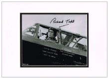 Richard Todd Autograph Photo - The Dam Busters
